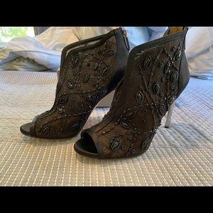 BCBGMAXAZRIA Women Black Boots